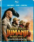 JUMANJI: The Next Level. Blu-Ray+DVD+Digital. BRAND NEW!, FREE SHIP!