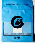 Blue Cookies Mylar Resealable Smell Proof Zip Lock 28g Bags
