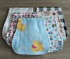 Handmade Cotton Flannel Burp Cloths-Many Prints to Choose From