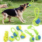 Dog Toy Chews Cotton Rope Knot Ball Grinding Teeth Odontoprisis Pet Toy Large A