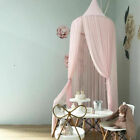 Girls Dome Round Chiffon Mosquito Net Hanging Bed Canopy Bed Cover Curtain image