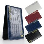 Crocodile Pattern Golf Custom Customized Scorecard / Yardage Book Holder Cover