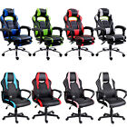 Executive Racing Gaming Chair Computer Office Pu Swivel Recliner Gift Adjustable