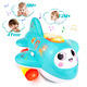 Musical Toy With Lights Electronic Moving Aeroplane Baby Development Toys Plane