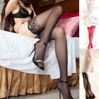 Ladies Fashion Womens Pantyhose Thigh High Stockings Stay Up Lace Top