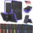 For Samsung Galaxy Tab E 8.0 T377 T378 Rugged Case Hard Stand Rubber Cover