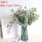 Artificial Fake Leaf Eucalyptus Green Plant Silk Flowers Nordic Home Decorations
