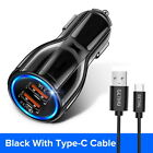 18W 3.1A Car Charger Quick Charge 3.0 Universal Dual USB Fast Charging Adapter