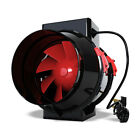 Black Orchid Mixed Flo Air Tent Ventilation Mounted Fan Inline Extraction