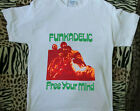 Reprint t shirt New Vtg 1990s Funkadelic Free Your Mind And Your Ass Will Follow $18.0 USD on eBay