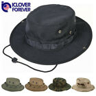 Wide Brim Tactical Boonie Hat Military Camo Bucket Hiking Fishing Booney Sun Cap