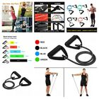 Resistance Band Tube With Handles Portable Fitness Workout Exercise Accessories image