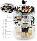 Rotating 360°Makeup Organiser Adjustable Jewelry Cosmetic Perfumes Display Stand
