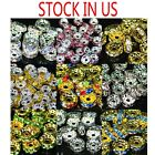 Kyпить 100pcs Swarovski Czech Crystal Rhinestone Rondelle Spacer Beads 4,5,6,8,10mm  на еВаy.соm