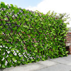 Artificial Hedge Garden Leaf Trellis Fence Screen Expanding Balcony Privacy Wall