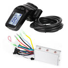 24/36/48V 350W Electric Scooter Motor Controller LCD Display Thumb Throttle Kit