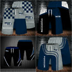 Seattle Seahawks Football Summer Beach Shorts 3D Loose Sports Shorts Swim Trunks $31.69 CAD on eBay