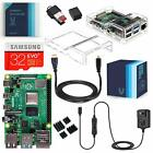 Vilros Raspberry Pi 4 Complete Starter Kit with Dual Cover Clear Case