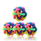 Dog Rope Chew Toys Pet Puppy Tough Strong Knot Ball Rubber Teething Playing Toys