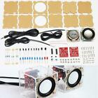 3W Speaker making kit with Transparent shell 2.36inch 1 Mini computer audio elec