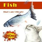 Simulation Fish Toy Catnip Cat Chew Wagging Electric Jumping Toys Practical K5M8