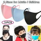 5x Reusable Washable Face Shield Fashion Outdoor Sponge Mouth Cover Dust-proof