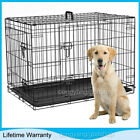 DOG CAGE PUPPY TRAINING CRATE PET CARRIER - SMALL MEDIUM LARGE XL XXL CAGES UK