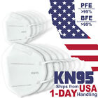 10PC KN95 Face Mask Earloop 5 Layer Disposable Respirator Safety Mouth Cover