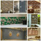 3d Wall Stickers Self-adhesive Pvc 3d Art Wall Panels Home Bedroom Decoration