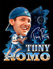 Tony Romo Champion Reprinted Reprint Cotton Black Men T-shirt S-4XL YY561 image