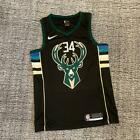 Milwaukee Bucks #34 Giannis Antetokounmpo Black Jersey FAST SHIPPING on eBay