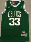 Throwback Larry Bird #33 Men's Boston Celtics Green Mens SEWN Vintage Jersey on eBay