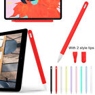 Silicone Case Nib Cover Protective Skin Sleeve Wrap For Apple Pencil 2 iPad Pro