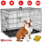 Dog Cage Cozy Pet Puppy Crate Metal with Tray 6 Sizes: 18