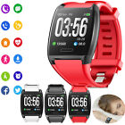 Large Screen Smart Watch Bluetooth Heart Rate Monitor for Android Samsung LG HTC