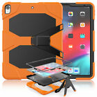 """For iPad Pro 11"""" & 12.9"""" 1st 2nd 3rd Gen Case Rubber Stand + Screen Protector"""