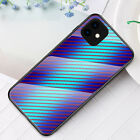 For Samsung A21s A71 5G A11 A31 Phone Case Carbon Fiber Glass Protective Cover