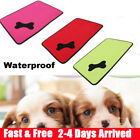 Waterproof Washable Dog Bed Pet Kennel Cushion Mat Crate Cage Pad House Large UK