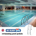 UK Swimming Pool Ladder Rung Steps Stainless Steel Anti Slip High hardness Pedal