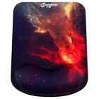 Mouse Pad Mat Wrist Rest Support Desktop Laptop Non-slip Memory Foam Ergonomic