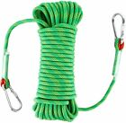 20-50M Outdoor Rock Climbing Static Safety Rope 10MM Rappelling Auxiliary Rope