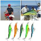 Lot Double Section Bionic Fishing Lure Crank Bait Tackle Durable Bass Hook N2x4