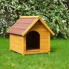 WOODEN DOG KENNEL Outdoor House Weather Proof Shelter PET  S, M, L, XL