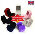 New Ring Earrings Boxes & Organizers Jewelry Earring Box Storage Gift Box ^