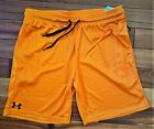 New With Tags Mens Under Armour Gym UA Muscle Tech Mesh Athletic Logo Shorts
