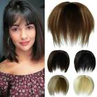 Topper Hairpiece with Bangs Topper as Human Hair Extension For Thin Hair Women