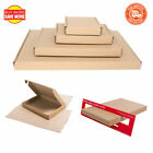 Royal Mail Brown Large Letter Cardboard Postal Mail PiP Boxes - Mini DL C4 C5 C6
