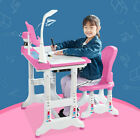 Kyпить Height Adjustable Study Desk And Chair Set Pull Out Drawer With Tilted Desktop на еВаy.соm