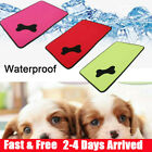 Waterproof Cooling Dog Bed Pet Kennel Cushion Mat Crate Cage Pad Large House NEW