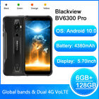 BLACKIVEW BV6300 Pro Octa Core 6G 128GB IP68 Helio P70 Android 10.0 Moblie Phone
